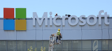 L.A. Live's Nokia Theatre changes name to Microsoft Theater with New Signtech Installation