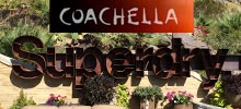 Superdry Sign by Signtech for Coachella Music Festival Exhibit