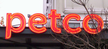 Petco Neon Store Sign by Signtech
