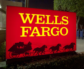 Wells Fargo Bank Sign